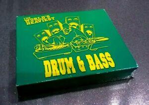 THE WORLD'S HEAVIEST - DRUM & BASS - 35 TRACK, 3 x CD - BOX SET - RESISTCD102