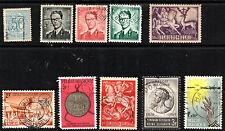 stamps Belgium A108 A111(3) A178 A207 Sp211 Sp214 Sp305 Sp356 Lot