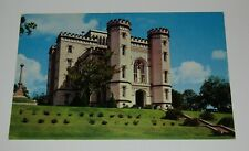 Baton Rouge Louisiana Postcard Old State Capitol Building Gothic Architecture