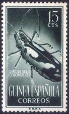 ESPAÑA - GUINEA ESPAÑOLA - RARO FRANCOBOLLO DA 15 CENTIMOS - 1953