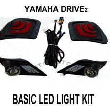 Yamaha Drive2 Golf Cart 2017-Up LED Basic LED Light Kit