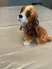 Vintage Walt Disney Productions Lady and The Tramp Dog Ceramic Figure