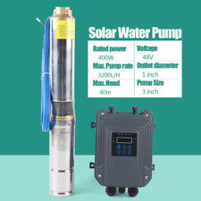 3 Dc Solar Water Pump 48v 400w Submersible Mppt Controller Deep Bore Well Pump