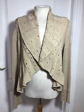 Size 12/14 Waterfall Cardigan, Shrug. Winter, Spring, Anytime Day Or Night.
