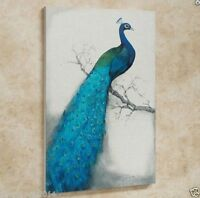 CHOP176 100% hand-painted modern peacock abstract art oil painting on canvas