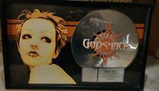 Godsmack Riaa Platinum certified award authentic Sully Erna Record Label HTF