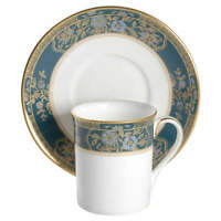 Royal Doulton Carlyle Flat Demitasse Cup & Saucer Set 1248602