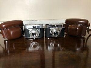 2 x German Kodak RETINETTE 1A  + Leather Case