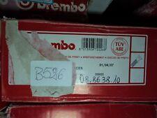 B526 - BREMBO 08.8638.10 COPPIA DISCHI FRENO ANTERIORI OPEL ASTRA CORSA COMBO