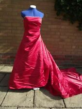 Unbranded Satin Ruching Strapless Wedding Dresses