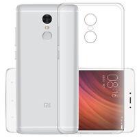 For Xiaomi Redmi Note 4 4X Ultra Thin Clear Soft Silicone Gel TPU Case Cover S