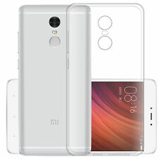 Ultra Thin Clear Soft Silicone GEL TPU Case Cover Skins for XIAOMI REDMI Note 4