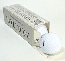 Spalding Molitor 3 In Box Precision Golf Balls Scary Long Maximum Distance New