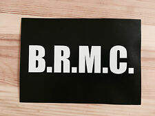 Official Black Rebel Motorcycle Club We're All In Love Sticker BRMC