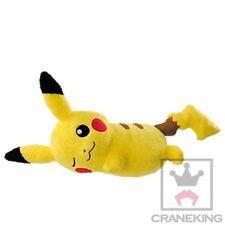 Banpresto Pocket Monsters Pokemon Sun & Moon Relax Time lying Pikachu Plush
