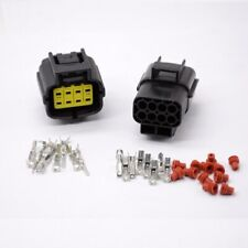 1 set 8 Pin Way Waterproof Wire Connector Plug Car Auto Sealed Electrical Set