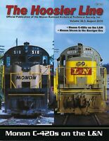 The HOOSIER Line: MONON Railroad Historical Society, 3rd Qtr., 2019 (NEW issue)