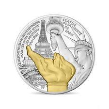 FRANCE 10 Euro Argent BE 2017 Statue de la Liberté Paris - Silver coin