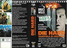 DIE HARD - TRAPPOLA DI CRISTALLO (1988) vhs ex noleggio