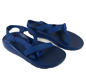 Chaco Solid Blue Strap Sandals Mens Size 12