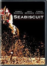Seabiscuit DVD Tobey Maguire NEW and factory sealed, ships with tracking