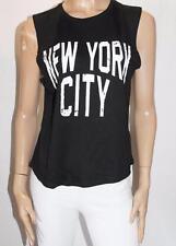 Freeze Brand Black NEW YORK CITY Tank Top Size L BNWT #SW63