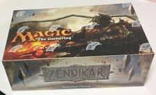 MTG Magic the Gathering Zendikar English 1/2 Booster Box 18 Gem Packs