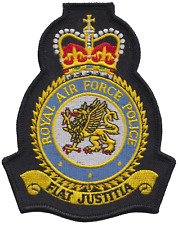 Royal Air Force Police RAFP Mod Crest Embroidered Patch