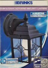 Brinks Augustine 60W Photocell Dusk to Dawn Light Matte Black 75190-693 NEW BOX