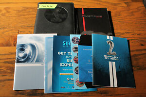 2011 Ford Shelby Mustang GT 500 Cobra owners manual with case For2229