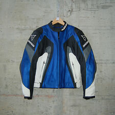 DAINESE - SHARD LEATHER JACKET - SIZE 46 - BLUE/ANTHRACITE - 1533456