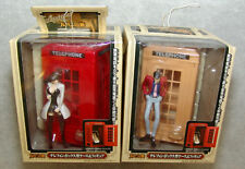 NEW Banpresto Lupin The 3rd FIGURE & TELEPHONE BOX Set of 2 red/yellow US SELLER
