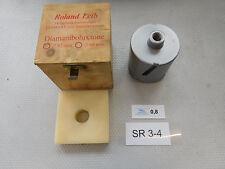 Diamante perforación corona Ø 82mm y m16 rosca, sin usar! shipping Free