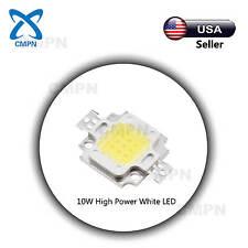 1Pcs 10W High Power LED SMD Chip Beads Buld Light Lamp Diodes White 6000-6500k