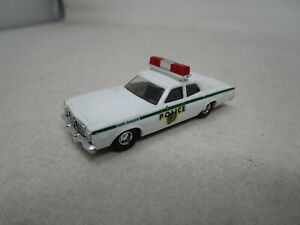 Busch Car *DODGE PLYMOUTH PARK RANGER POLICE CAR* 1:87 HO SCALE  Made In Germany