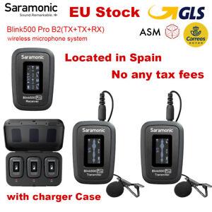 Saramonic Blink500 Pro B2 Wireless Lavalier Lapel Microphone For Phone DSLR Came