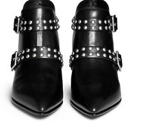 39 8 Carroll Leather Marc Jacobs Studded Booties