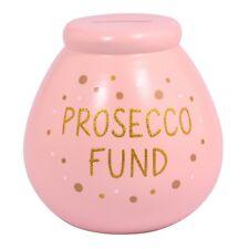 Fondo para ollas de los sueños Prosecco Pote de Dinero Ahorrar Dinero Caja Regalo y Smash