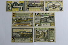 GERMANY NEUSALZ 7 BANKNOTES B19 #874