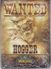 2011 BLIZZARD WORLD OF WARCRAFT WOW TCG SEALED DECK PACK Exclusive Wanted Hogger