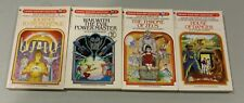 VTG 4 CYOA Choose your own Adventure Books 1982 1st prints House of Danger +++