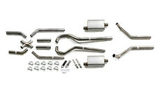 """Pypes 67-87 Gm Chevy Chevorlet Truck Exhaust System 2wd 2.5"""" Race Pro Mufflers"""
