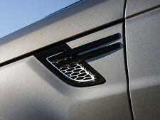 Range Rover Sport L494 (2014+) - Genuine Black/Silver Dynamic Side Vents (pair)