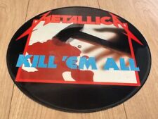 METALLICA . KILL EM ALL PICTURE DISC ORIGINAL LP . 1st PRESS WITHOUT BARCODE