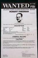 Wanted by the FBI for MURDER --  2 orig 1995 Large Posters