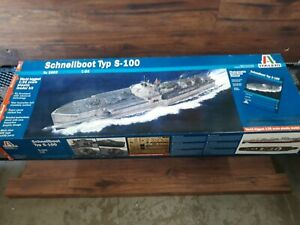 Italeri 5603 1/35 WWII Schnellboot Type S100 Military Boat