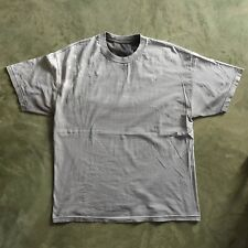 Bleached Faded Thrashed Vtg Basic Blank Worn T Shirt Thick Cotton 23x29