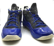 Men's Jordan Melo M8 Anthracite White-Varsity Royal Blue Shoes Sneakers Size 12