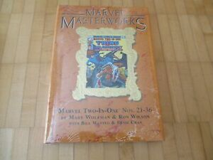 Marvel Masterworks 256 Marvel Two in One 21- 36   Limited Marble Variant