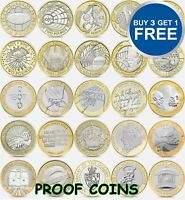 UK PROOF £2 TWO Pound Coins 1986 -2015 Choice of Year